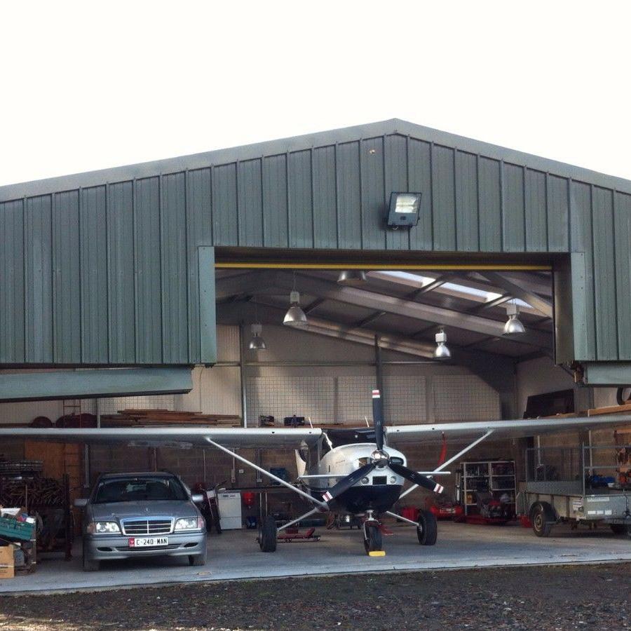 Aircraft Hangar Steel Building thumb 2