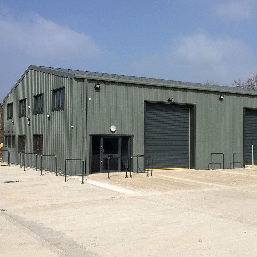 Large Steel Storage Building thumb 3