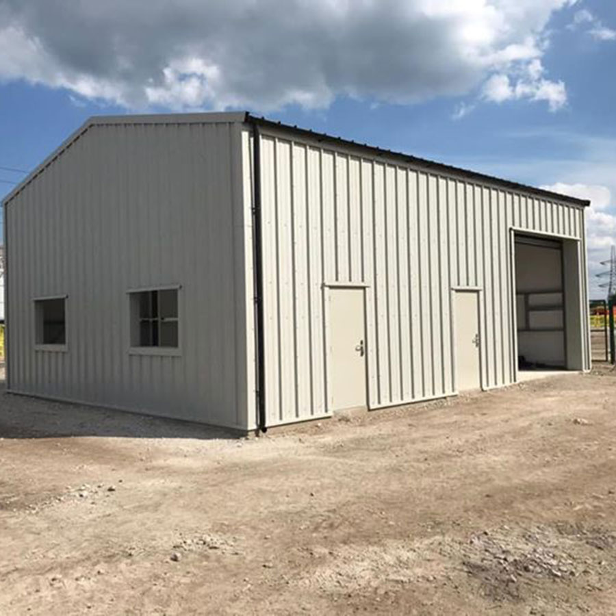 Stores Steel Framed Buildings