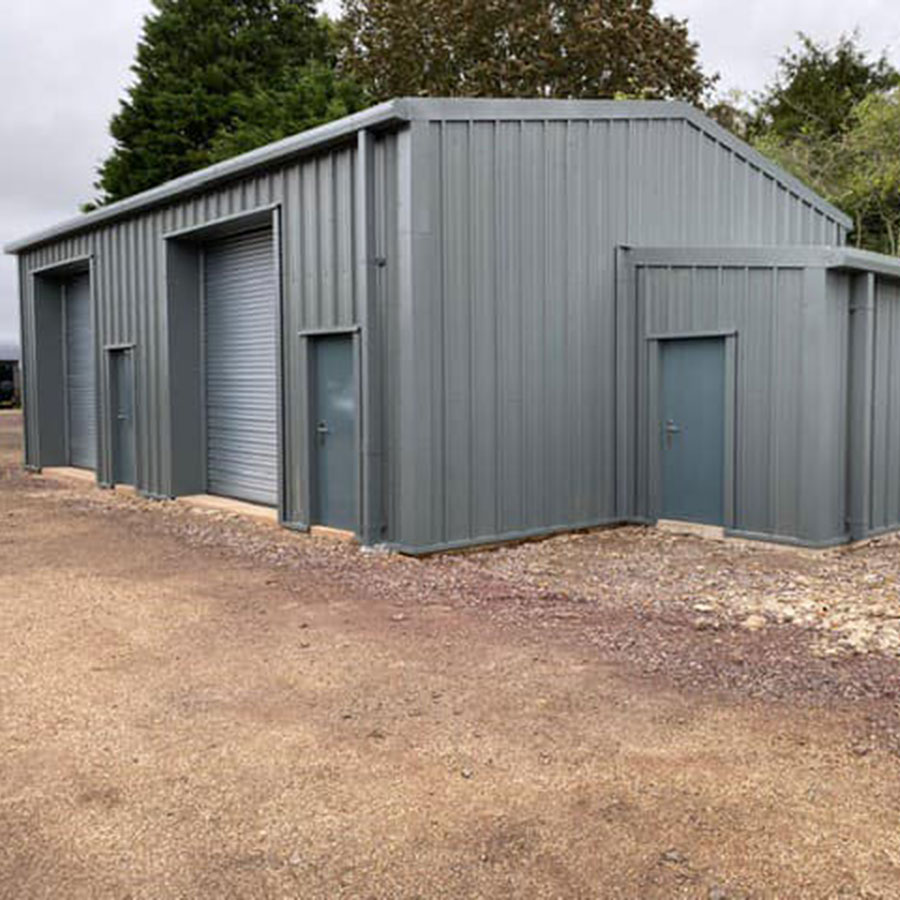 Small Industrial Insulated Building