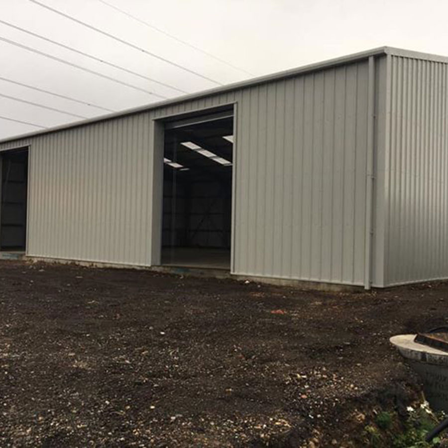 Insulated Industrial Steel Framed Building