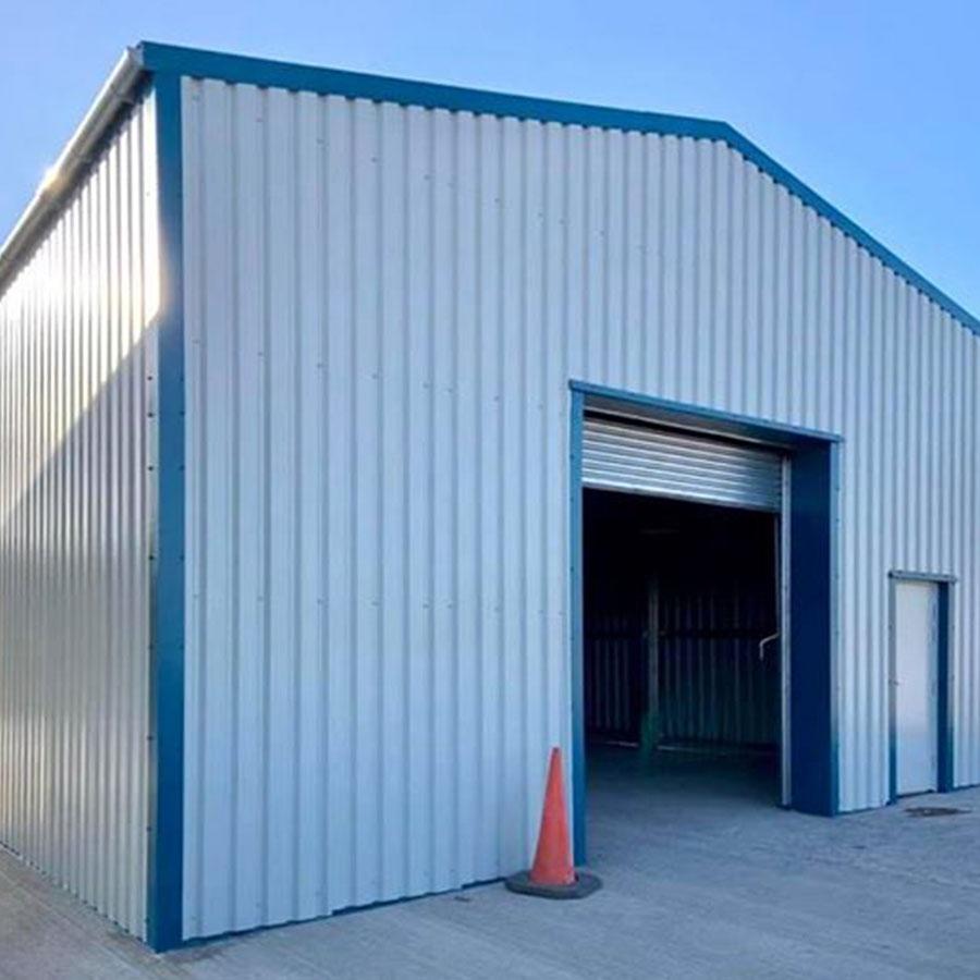Steel Framed Building thumb