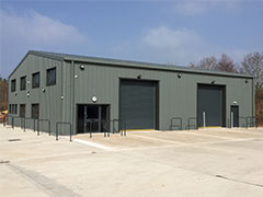 Steel Industrial Buildings