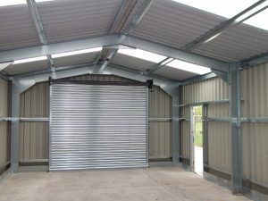 inside used steel buildings