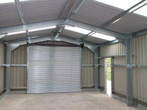 inside used steel buildings
