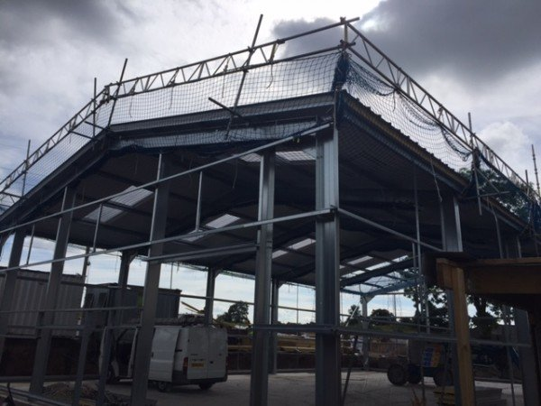 Industrial steel buildings frame