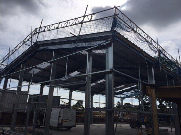 steel building West Midlands