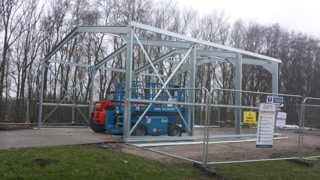 steel structure in liverpool