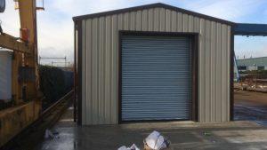 Steel framed building for processor in essex