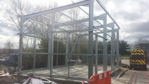 steel building construction in west midlands