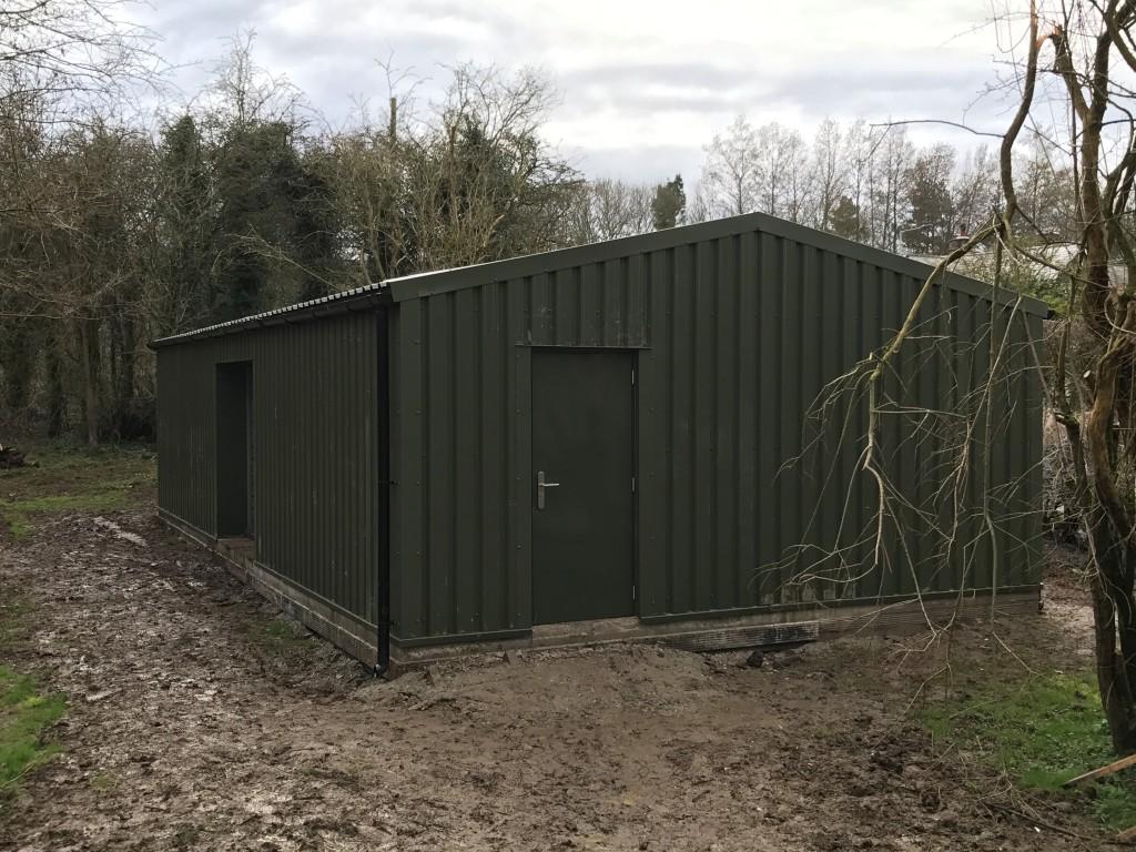 Steel Building Workshop in Suffolk